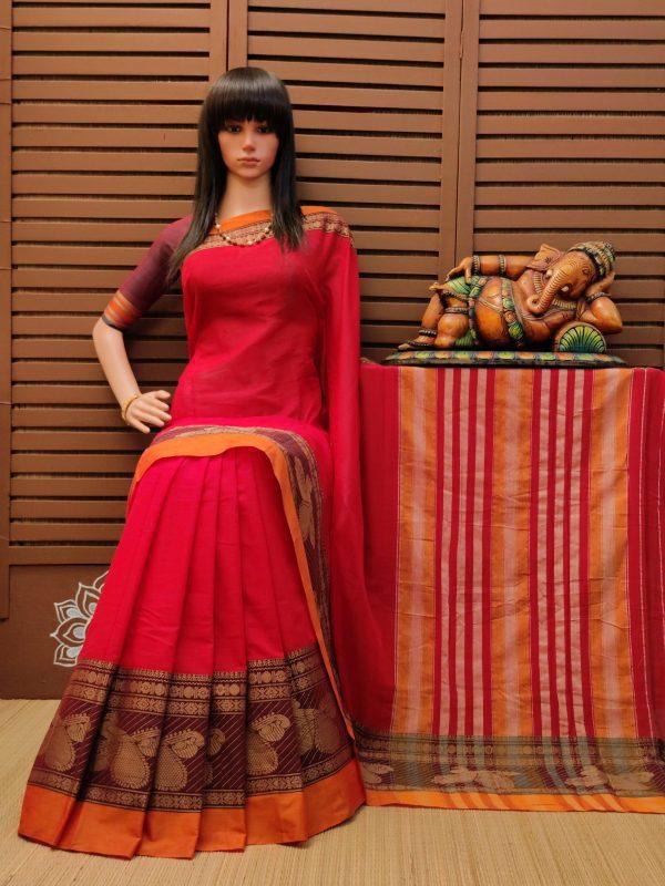 Tapasya - Pearl Cotton Saree