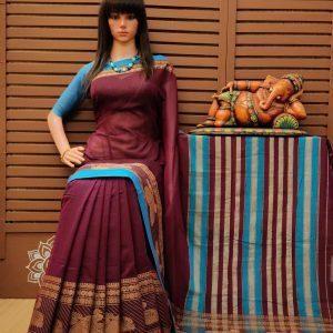 Tarulatha - Pearl Cotton Saree