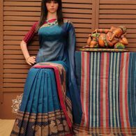 Tarunii - Pearl Cotton Saree
