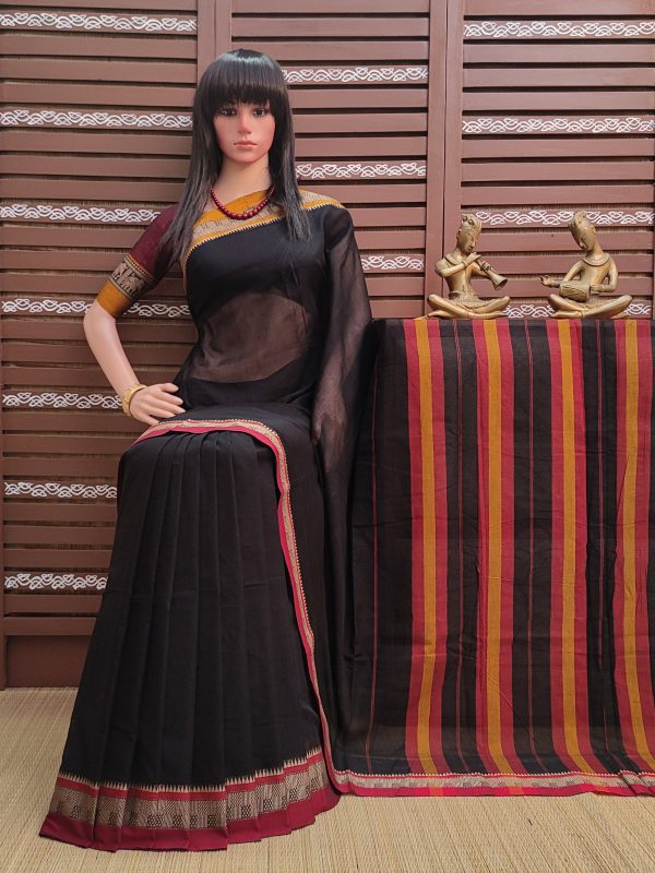Tejini - Pearl Cotton Saree