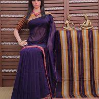 Thanayaa - Pearl Cotton Saree