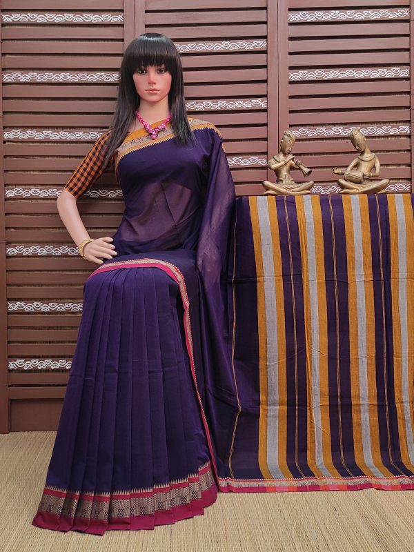 Thanayaa - Pearl Cotton Saree