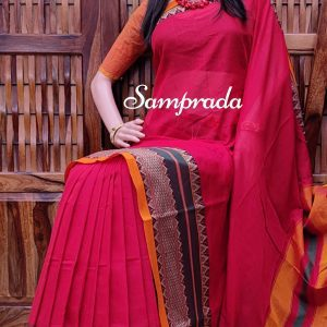 Thanuja - Pearl Cotton Saree