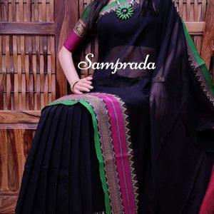 Thanushree - Pearl Cotton Saree