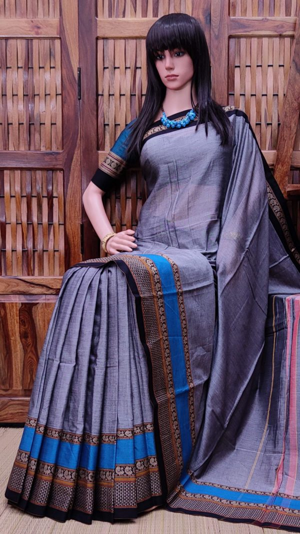 Theertha - Pearl Cotton Saree