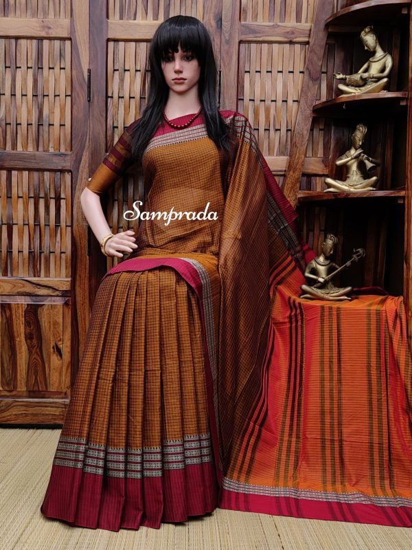 Thrishna - Pearl Cotton Saree