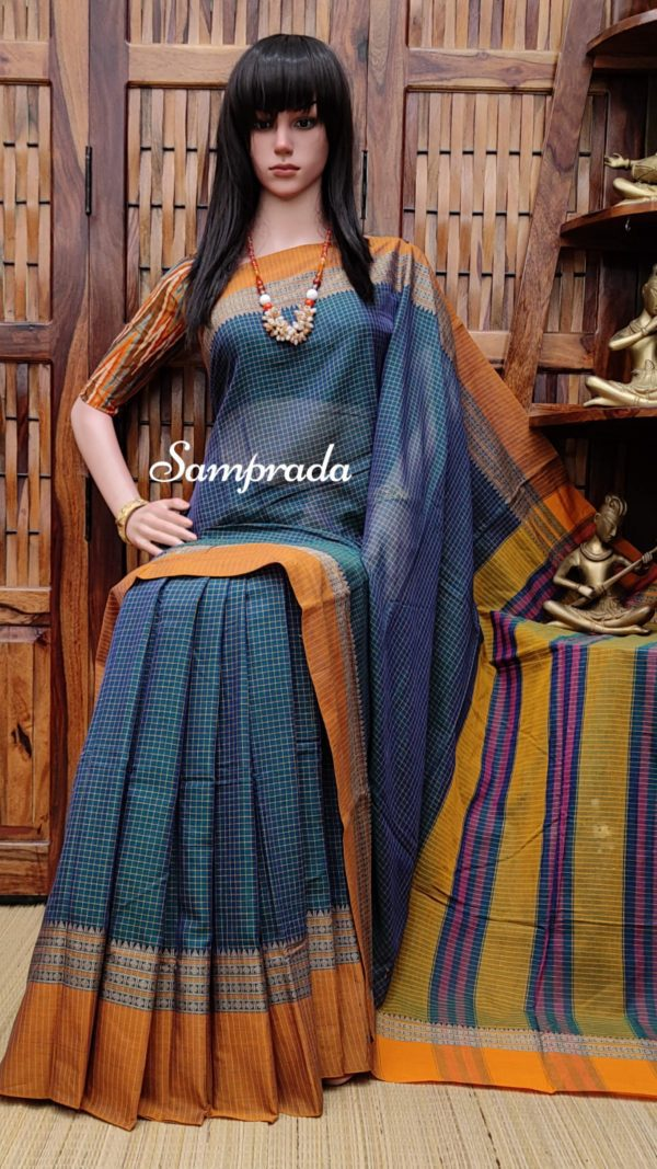 Thushara - Pearl Cotton Saree