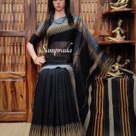 Tishya - Pearl Cotton Saree