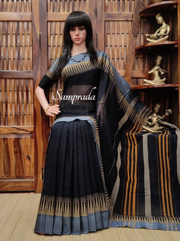 Tishya - Pearl Cotton Saree