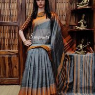 Tripathagaa - Pearl Cotton Saree