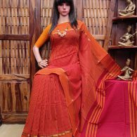 YESHASWINI – PEARL COTTON SAREE