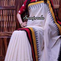 Poornathva - Ikkat Cotton Saree