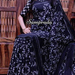 Praadha - Ikkat Cotton Saree