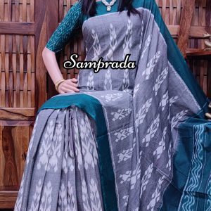 Prabhata - Ikkat Cotton Saree