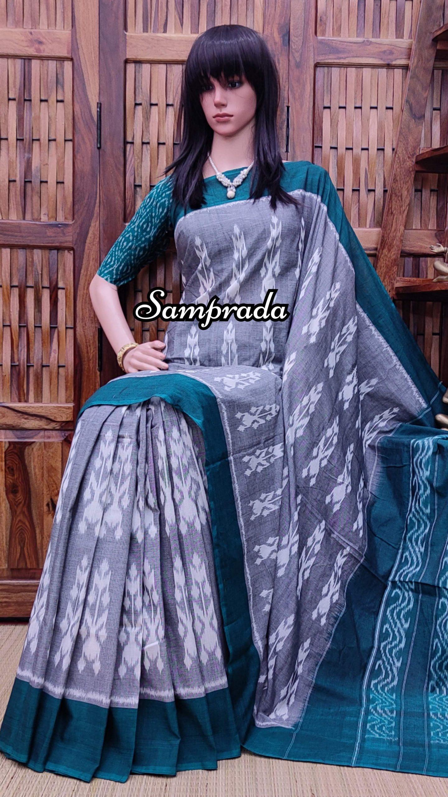 Prabhata - Ikkat Cotton Saree