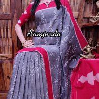 Prabhrithi - Ikkat Cotton Saree