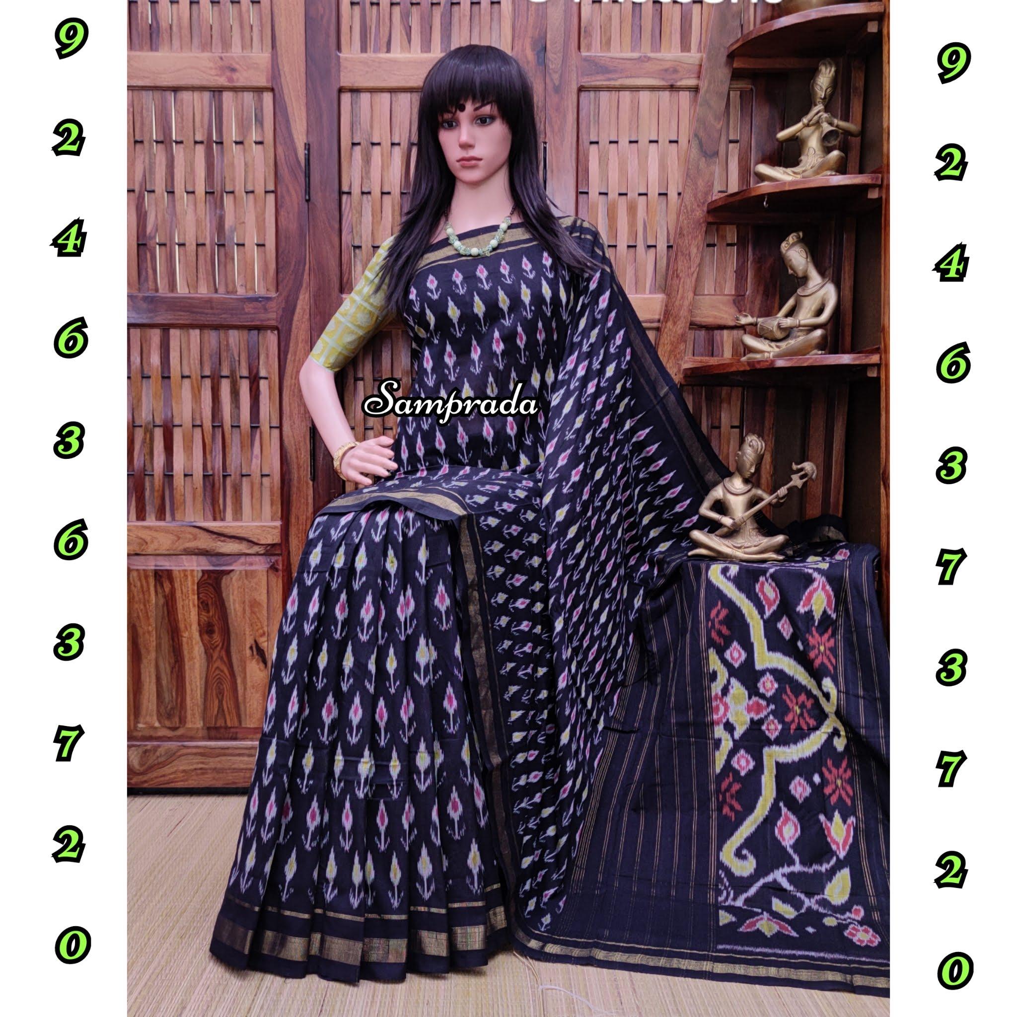 Pradeeptha - Ikkat Cotton Saree