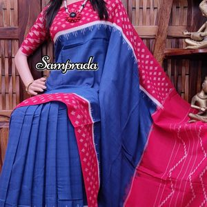 Prameela - Ikkat Cotton Saree