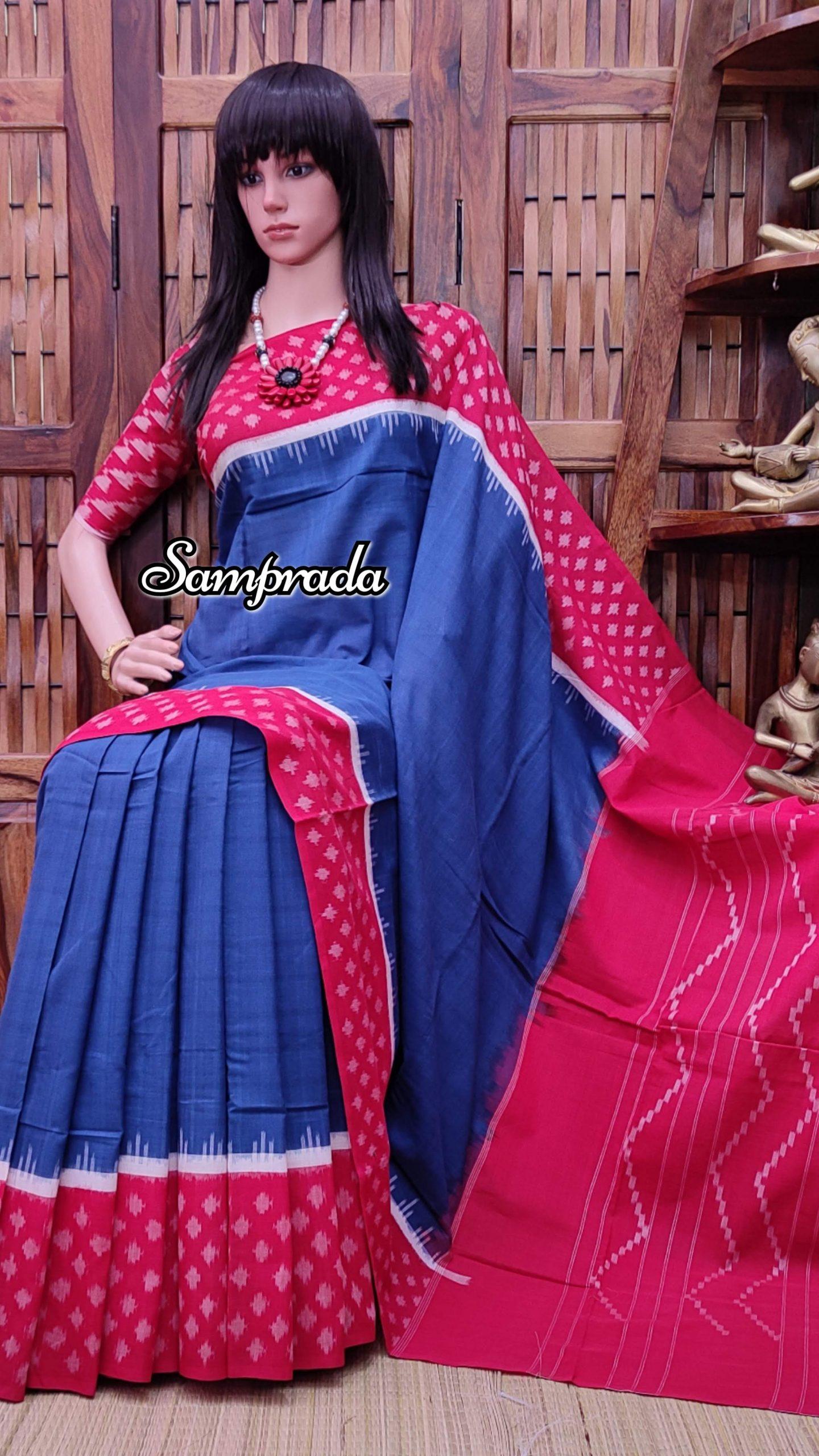 Prameela - Ikkat Cotton Saree