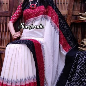 Pramik - Ikkat Cotton Saree