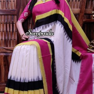 Pramila - Ikkat Cotton Saree