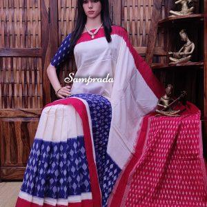 Pramuditha - Ikkat Cotton Saree