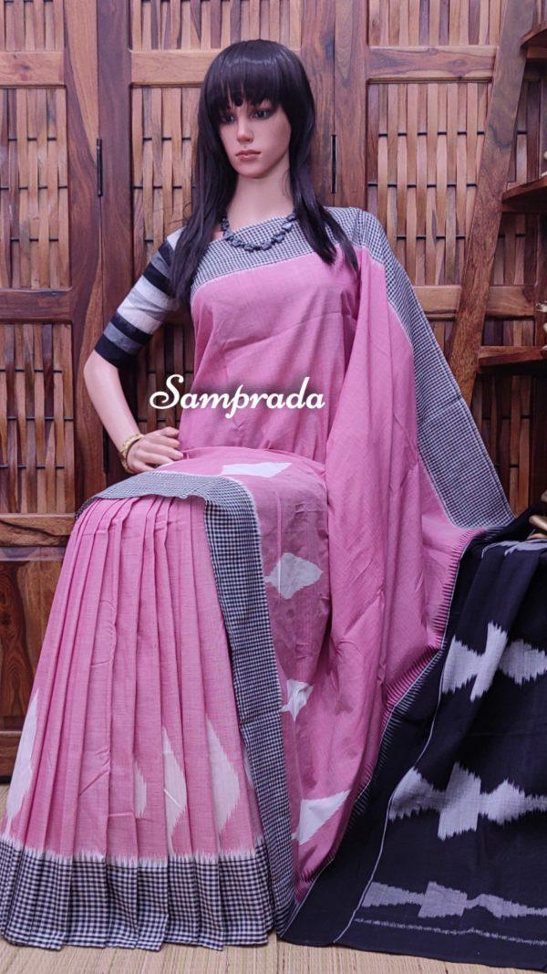 Pranahithi - Ikkat Cotton Saree