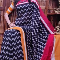 Pranavapriya - Ikkat Cotton Saree