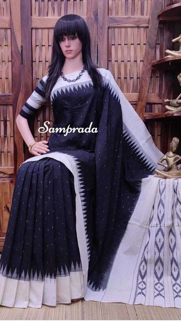 Pranaya - Ikkat Cotton Saree