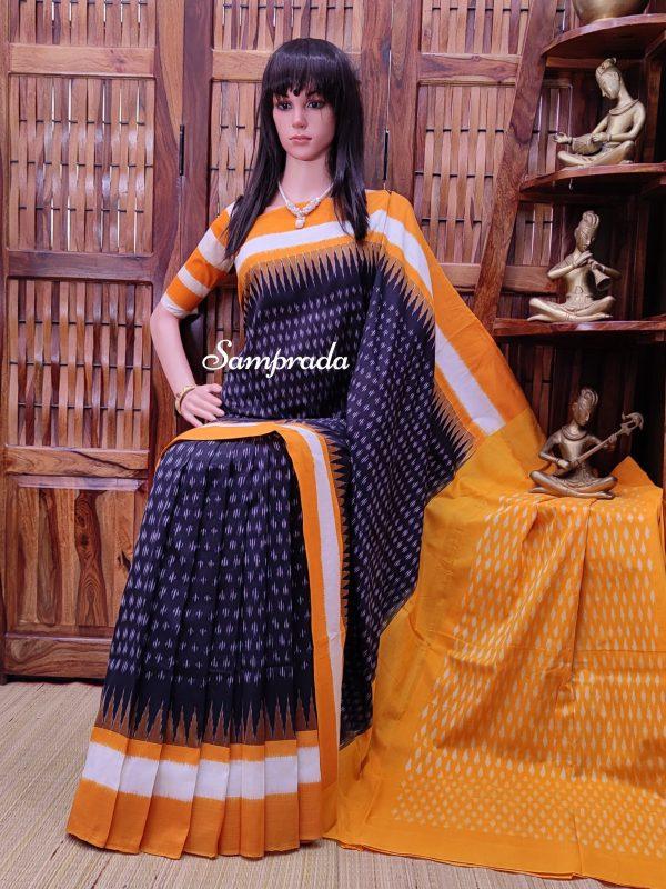 Pranidhaana - Ikkat Cotton Saree
