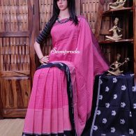 Pranoti - Ikkat Cotton Saree