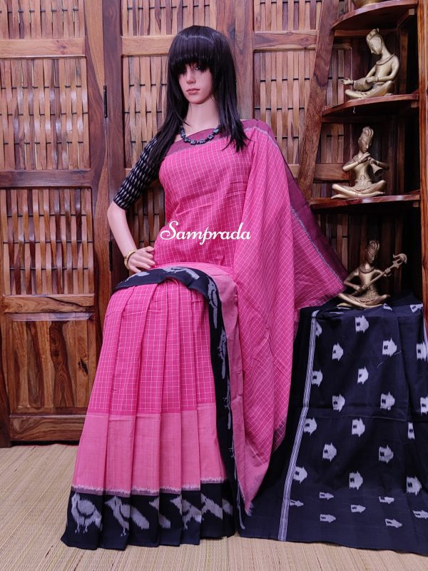Pranoti - Ikkat Cotton Saree