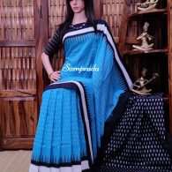 Praphulla - Ikkat Cotton Saree