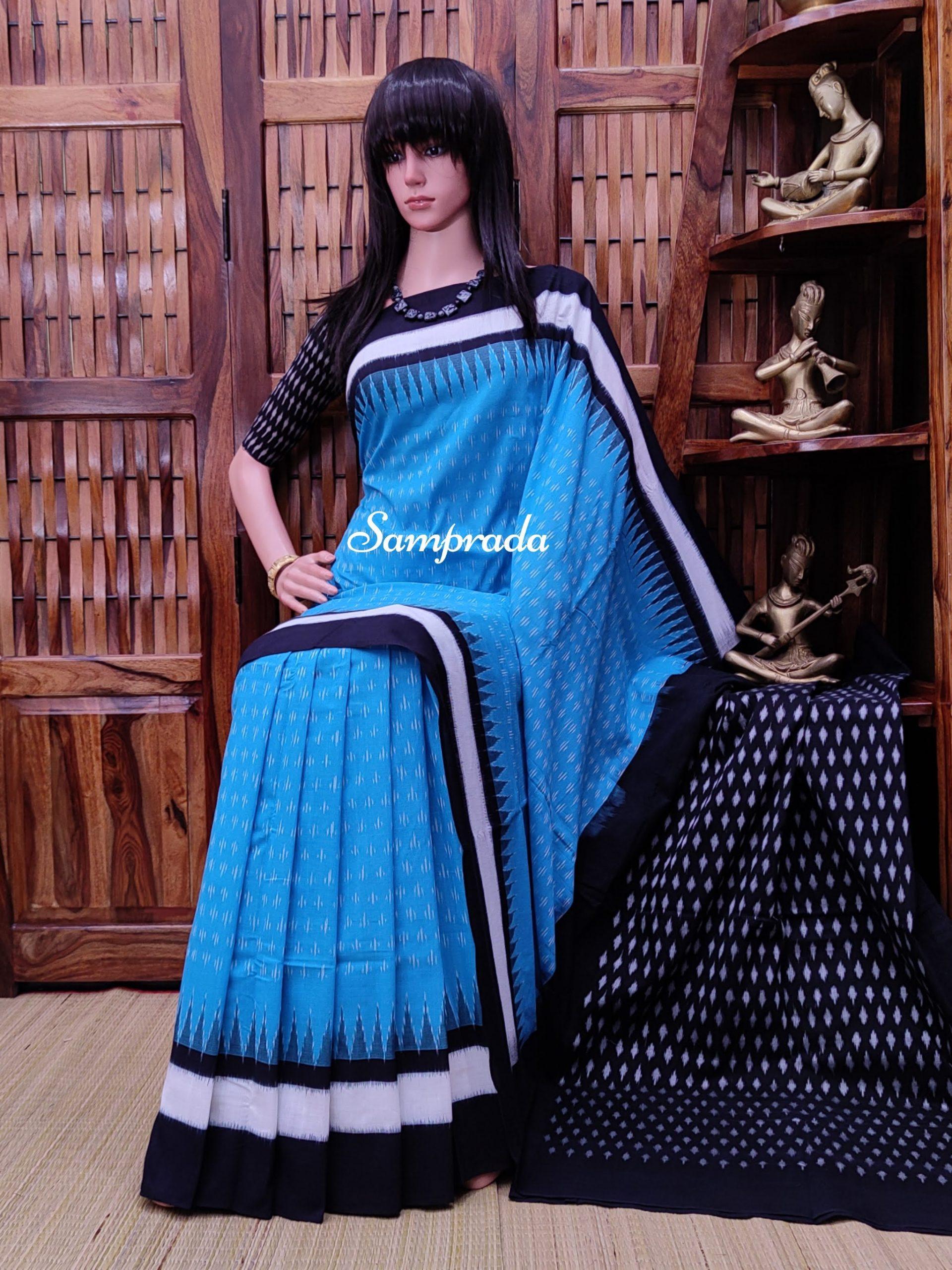 Praphulla - Ikkat Cotton Saree