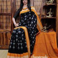 Prasutha - Ikkat Cotton Saree