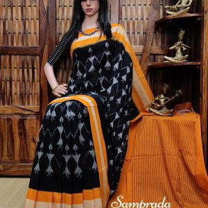 Prasutha - Ikkat Cotton Saree