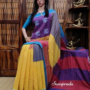 Pratha - Ikkat Cotton Saree