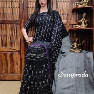 Prathitha - Ikkat Cotton Saree