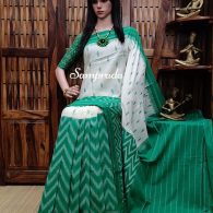 Pratichii - Ikkat Cotton Saree