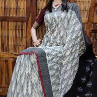 Pratyusha - Ikkat Cotton Saree
