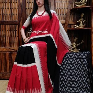 Praveena - Ikkat Cotton Saree