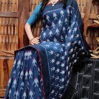 Preethi - Ikkat Cotton Saree