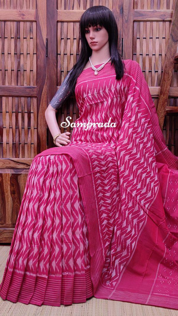 Preity - Ikkat Cotton Saree