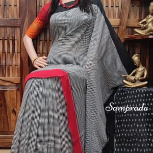 Premaa - Ikkat Cotton Saree