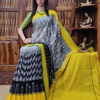 Priyamvada - Ikkat Cotton Saree