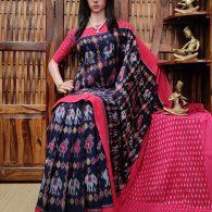 Prshanti - Ikkat Cotton Saree