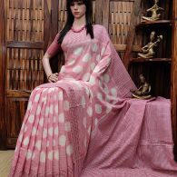 Pulakitha - Ikkat Cotton Saree