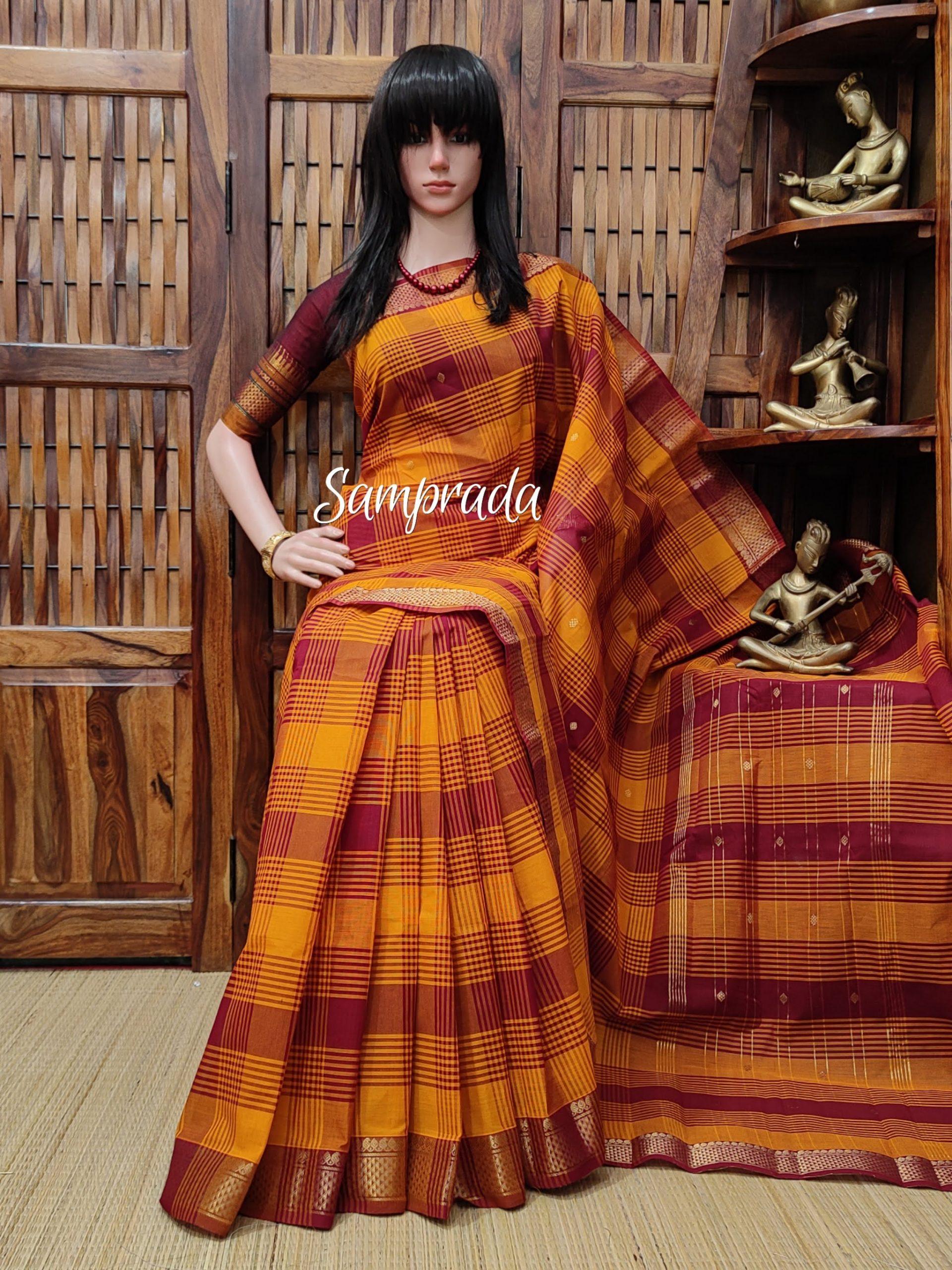 Saahithi - South Cotton Saree