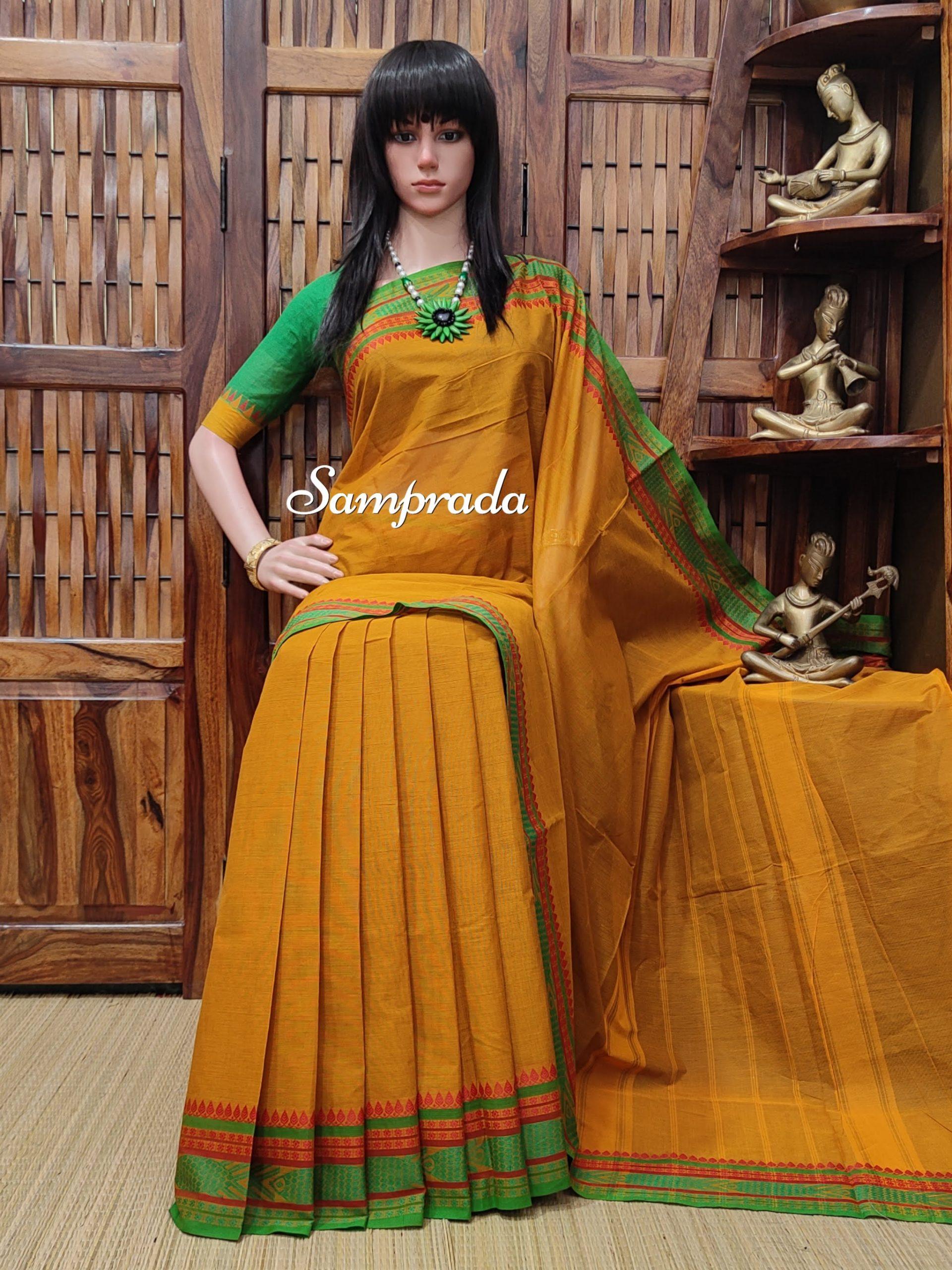 Saanjali - South Cotton Saree