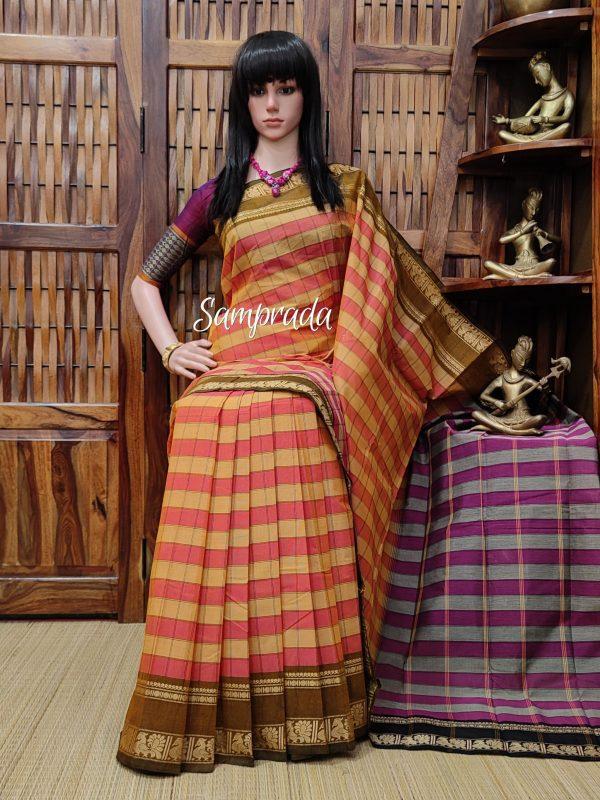 Saaveri - South Cotton Saree